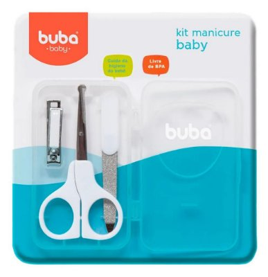 Kit Manicure Bebê Branco Buba