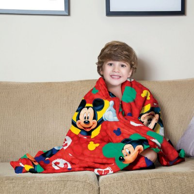 Mantinha Fleece Infantil Mickey Lepper