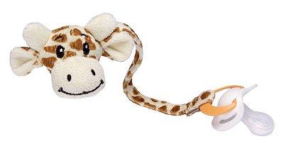 Prendedor de Chupetas Girafinha Sonho de Luz