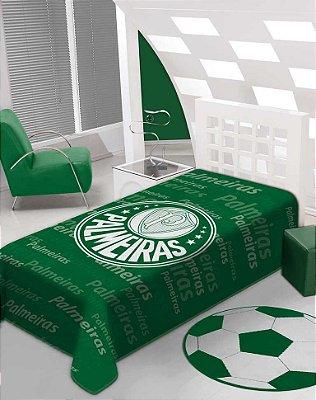 Cobertor Palmeiras Stadium Solteiro Jolitex 1,50 x 2,20m