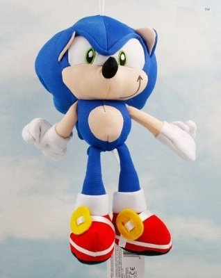 Sonic Pelúcia 20Cm
