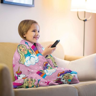 Mantinha Fleece Infantil Barbie Lepper