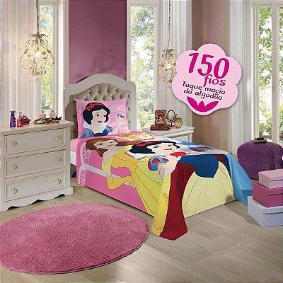Jogo de Cama Infantil Princesas com 3 Pçs - Lepper