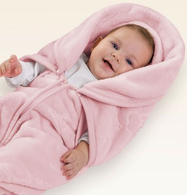 Baby Sac Jolitex Texture Rosa 80cm x 90cm