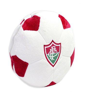 Almofada Bola Pelúcia Fluminense Oficial