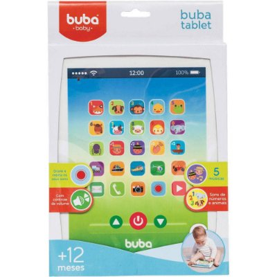 Tablet Bebê Musical Blue Buba
