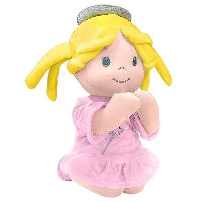 Anjinha que Reza Pelúcia 24cm Buba Toys