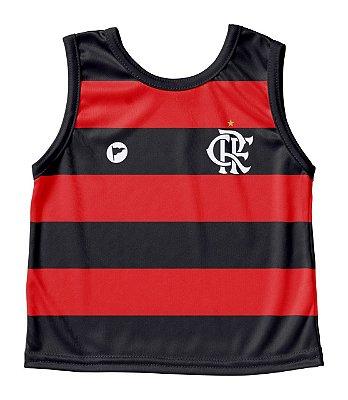 Camiseta Flamengo Bebê Regata- Torcida Baby
