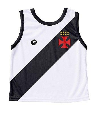 Camiseta Vasco Bebê Regata- Torcida Baby