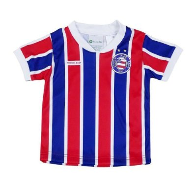 Camiseta Bebê Bahia Listrada - Torcida Baby