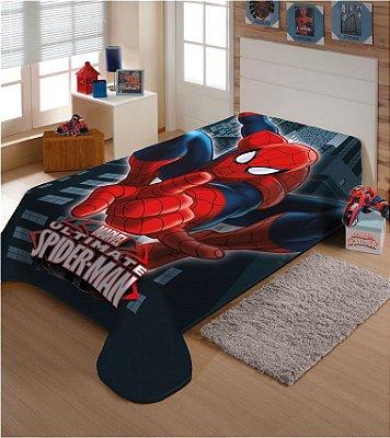 Cobertor Homem Aranha Jolitex 1,50 x 2,00m