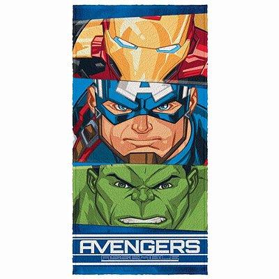 Toalha De Banho Felpuda Infantil Avengers 3 - Lepper