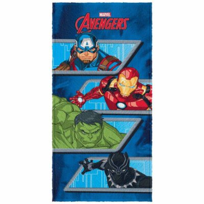 Toalha De Banho Felpuda Infantil Avengers 4 - Lepper