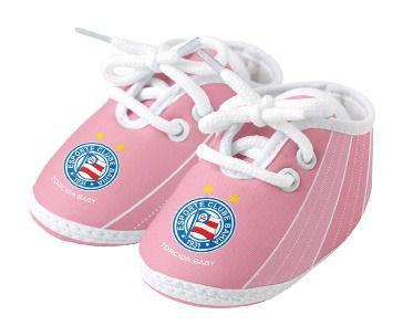 Chuteira Bebê Bahia Rosa Oficial - Torcida Baby