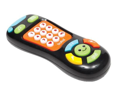 Controle Remoto Baby Musical Preto Buba Toys