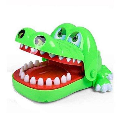 Jogo Infantil Mordida do Jacaré Verde Unik Toys