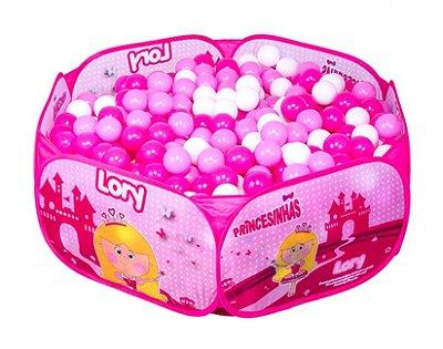 Piscina de Bolinhas Princesinha Lory Unik Toys