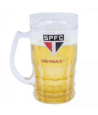 Caneca Cerveja São Paulo 400ml Oficial