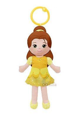 Chaveirinho de Pelúcia Princesas Disney Bela 15cm Buba