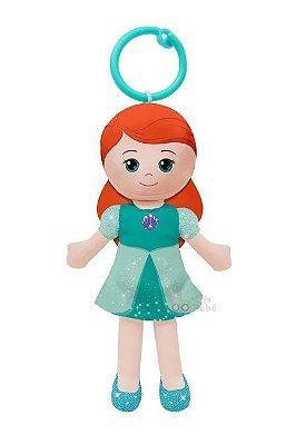 Chaveirinho de Pelúcia Princesas Disney Ariel 15cm Buba