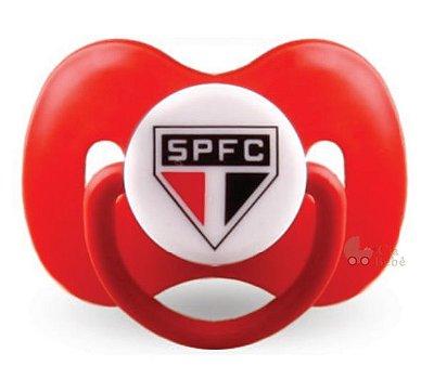 Chupeta São Paulo Borboleta Redonda S2 Kids Gol