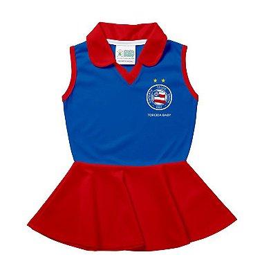 Vestido Bebê Bahia Regata - Torcida Baby