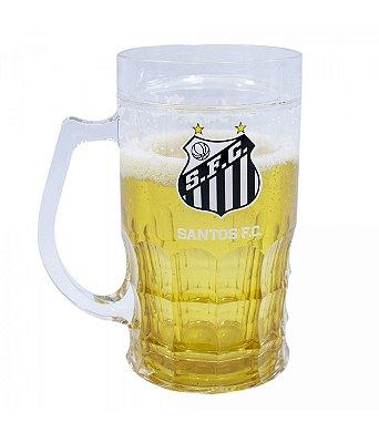 Caneca Cerveja Santos 400ml Oficial