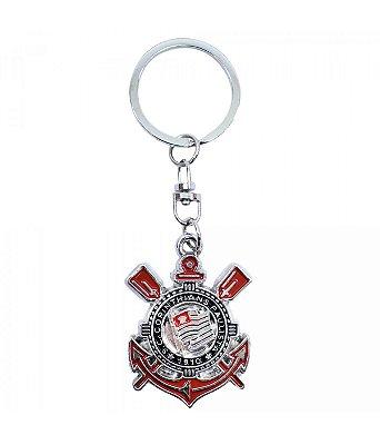 Chaveiro Corinthians Metal Escudo Oficial