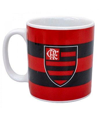 Caneca Porcelana Flamengo 320ml Oficial