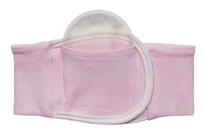 Cinta Térmica Bebê Alívio Cólica Rosa Buba