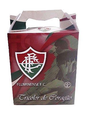 Caixa Para Presente Fluminense 21x18 Cm Oficial