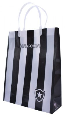 Sacola Para Presentes Botafogo 22x28 Cm