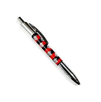 Caneta Roller Pen De Plástico Flamengo Oficial