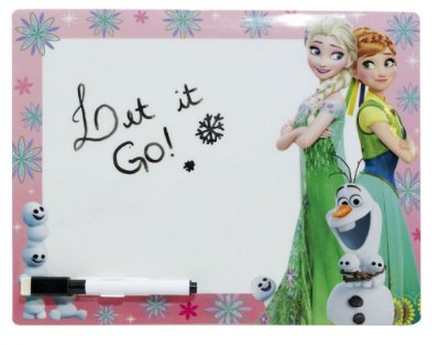 Painel De Recados Anna Elsa & Olaf Frozen 27,5 x 21cm