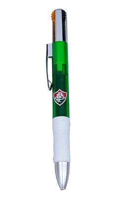Caneta Fluminense Roller 4 Cores Oficial