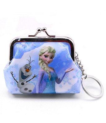 Porta Moeda Elsa & Olaf Frozen Disney