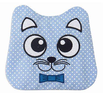 Bolsinha Térmica Bebê sem Cólica Gato Azul