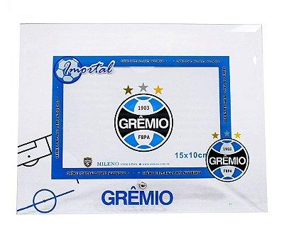 Porta Retrato Grêmio De Vidro Para 1 Foto 10X15cm