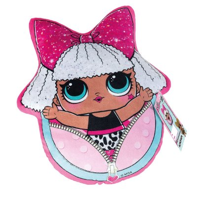 Almofada Infantil Lol Surprise Diva 34cm X 40cm - Lepper