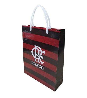Sacola Para Presentes Flamengo 33x26 cm