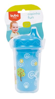 Copinho Fun Baby Azul Buba 300 Ml