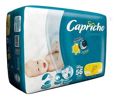 Fralda Bebê Capricho Bummis Tam P Com 56 Un