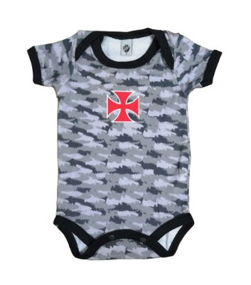 Body Bebê Vasco Camuflado Oficial