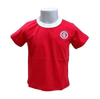 Camiseta Infantil Internacional Vermelha Oficial
