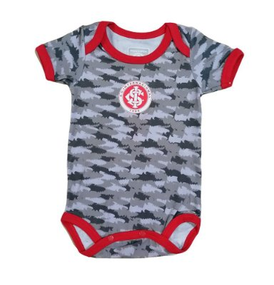 Body Bebê Internacional Camuflado Oficial