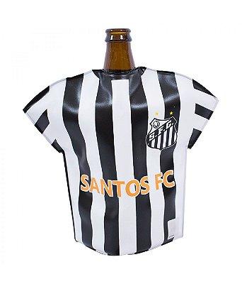Bolsa Térmica Camisa Para Garrafa Santos