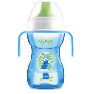 Copo De Treinamento Fun To Drink 270ml Azul - Mam