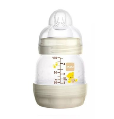 Mamadeira First Bottle 130Ml Neutra - MAM