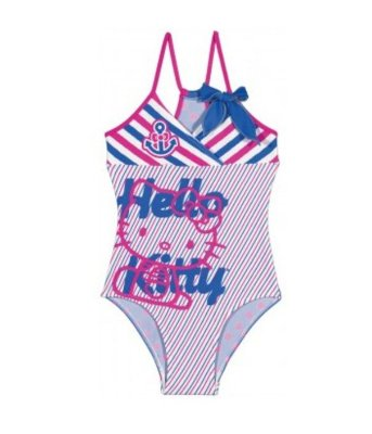 Maiô Infantil Tip Top Hello Kitty Rosa
