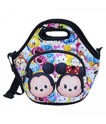 Bolsa Térmica Colorida Mickey Minnie 25x28cm - Disney